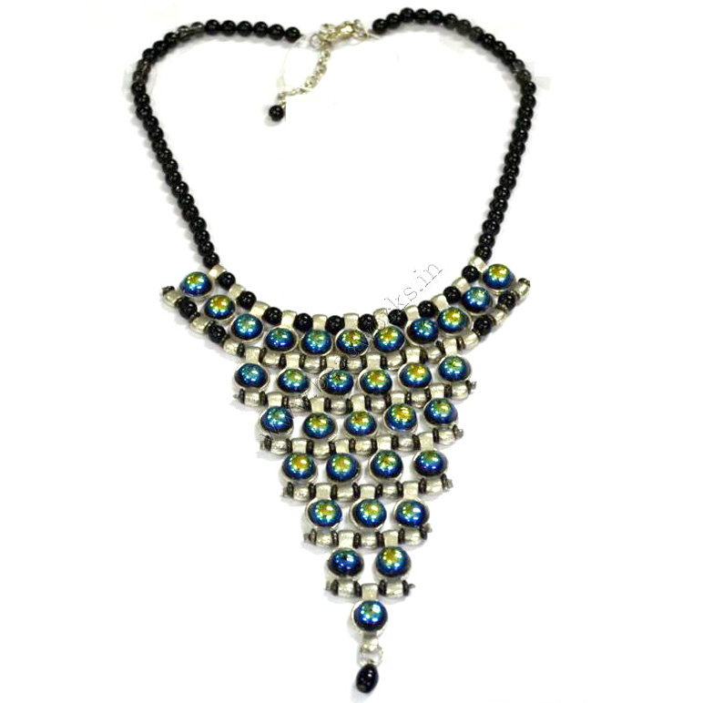 Glass Bead Necklace